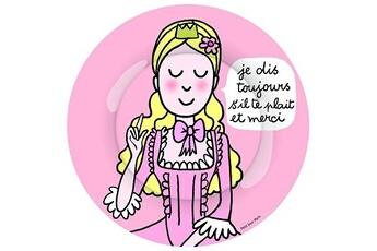 Vaisselle bébé Petit Jour Paris Assiette - Princesses - S'il te plait : 20 cm
