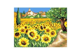 Peinture et dessin OZ INTERNATIONAL Peinture au numéro pour Initiés : Les tournesols