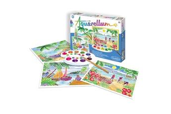 Peinture et dessin SENTOSPHERE Aquarellum paysages tropicaux