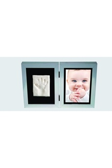 Empreinte bébé Kidzzcast Kit d'Empreinte My First Print of Fame Argent