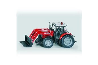 Jeux d'imitation Siku Tracteur Massey Ferguson avec chargeur frontal