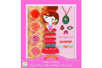 Mode et stylisme Djeco Perles Au bonheur des filles : Oh! les perles Perles et noeuds