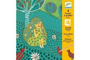 Peinture et dessin Djeco Cartes à gratter : Ondine