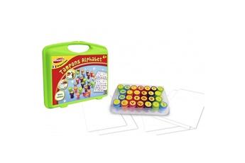 Autres jeux créatifs Joustra Mallette de loisirs créatifs : Tampons lettres