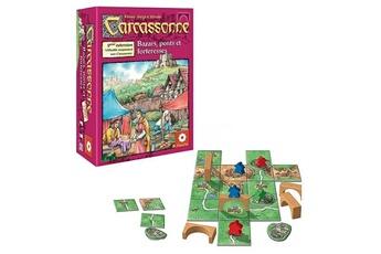 Jeux en famille ASMODEE Carcassonne Extension n°8 : Bazars, ponts et forteresses