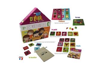 Jeux en famille Aby Smile Mon kit d'éveil découverte des 5 sens : Les Maternelles
