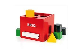 Jouets premier âge Brio Boîte à formes rouge
