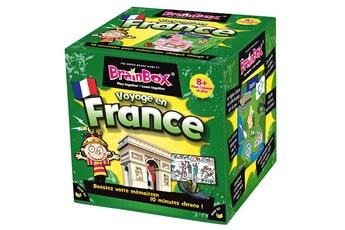 Jeux en famille ASMODEE Brain Box : Voyage en France