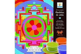 Peinture et dessin Djeco Mandalas de Sable Tibétains
