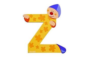 Spirale d'activité JANOD Lettre décorative clown en bois : Z