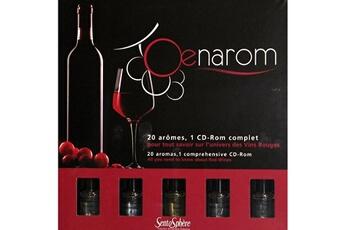 Jeux en famille SENTOSPHERE Coffret oenologie oenarom : vins rouges