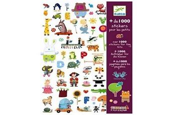 Peinture et dessin Djeco Stickers 1000 stickers pour petits