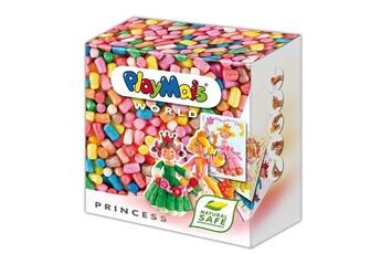 Pâte à modeler et bougie Playmais Playmais world : princesses