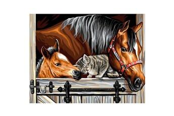 Peinture et dessin OZ INTERNATIONAL Peinture au numéro Initiés : Un trio en or