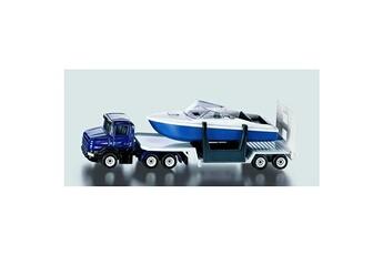 Jeux d'imitation Siku Camion surbaissé avec bateau
