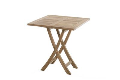 Table de jardin HEAVEN Table carrée pliante, 4 personnes, 70 x 70 cm ...