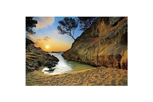 Puzzle 2000 pièces - Coucher de soleil sur la Costa Brava  Espagne