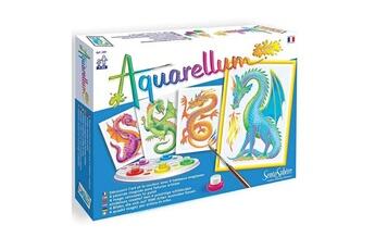 Peinture et dessin SENTOSPHERE Aquarellum junior : dragons