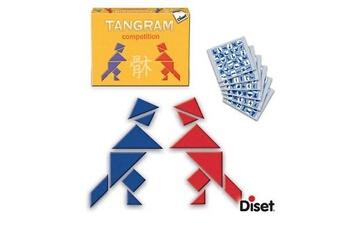 Autres jeux de construction Diset Casse-tête et figures tangram compétition