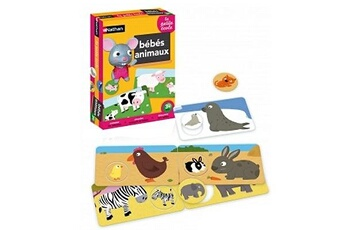 Jeux en famille Nathan La petite école : bébés animaux