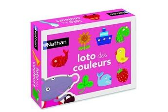 Jeux en famille Nathan Loto des couleurs