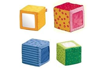 Jouets premier âge HABA Cubes d'éveil en tissu