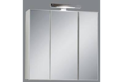 Miroir de salle de bains avec éclairage Swithome Zamora Blanc