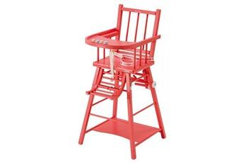 Chaise haute Chaise haute Transformable Rose COMBELLE COMBELLE