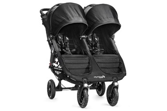 Poussette multiple BABY JOGGER Poussette City Mini Double GT Black BABY JOGGER