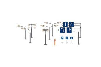 Jeux d'imitation Siku Panneaux de signalisation et réverbères