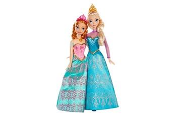 Poupées Mattel Poupées La Reine des Neiges (Frozen) : Coffret duo Anna et Elsa