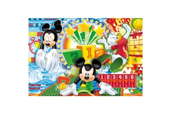 Puzzles CLEMENTONI Puzzle 250 pièces : mickey sport : football