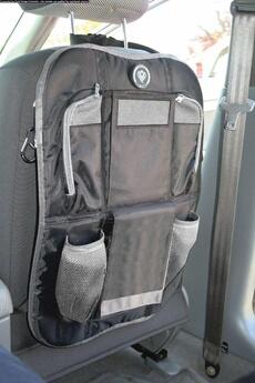 Accessoires pour la voiture Prince Lionheart Organiseur De Voiture Backseat Organizer Noir / Gris