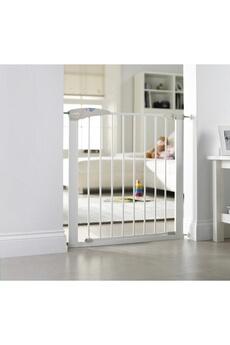 Barrière de sécurité bébé LINDAM Barrière de sécurité Blanche Sure Shut Axis (75 à 82cm)