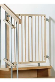 Barrière de sécurité bébé Geuther Barrière de Sécurité Pivotante pour Escalier (99.5 à 140cm)
