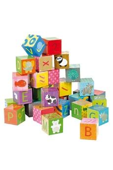 Jouets premier âge JANOD Jeu Educatif Alphabet 32 cubes