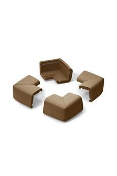 Sécurité intérieure Prince Lionheart 4 petits coins de mousse anti-choc Chocolat