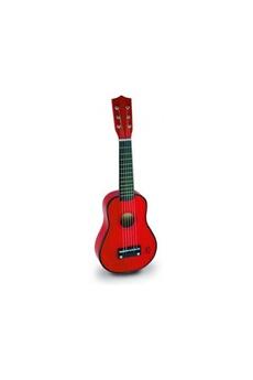 Jouets premier âge VILAC Guitare pour enfant en Bois rouge