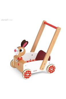 Jouets premier âge JANOD Chariot de marche Crazy Rabbit
