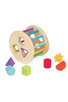 Jouets premier âge JANOD Quizz des Formes 6 cubes