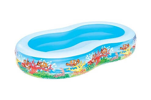 "Piscine enfant PISCINE ""PLAY POOL"" FAMILIALE EN HUIT - 2.62 X 1.57 X 0.46 M Bestway"