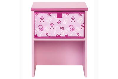 Armoire Worlds Apart Table De Chevet Rose Hello Kitty Sanrio Darty