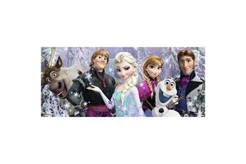 Puzzles RAVENSBURGER Puzzle panoramique 200 pi?ces xxl : la reine des neiges (frozen) : arendelle sous neiges ?ternelles