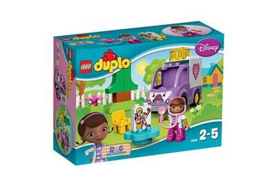 La Docteur 10605 Lego DuploRosie Peluche De L'ambulance X0nk8wOP