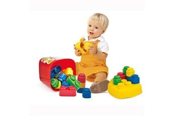 Jouets premier âge CLEMENTONI Cubes souples Baby Clemmy : Baril de 20 briques