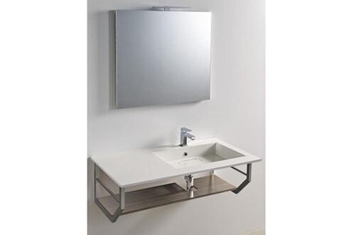 meuble de salle de bain | darty - Meuble Salle De Bain Brossette