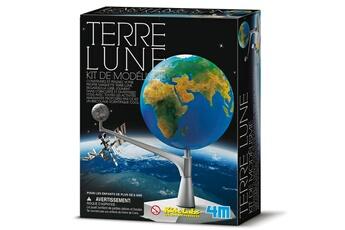 Jeux ludo éducatifs 4M - Kidz Labs Kit de modélisme : Espace : Terre et Lune