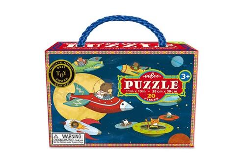 Puzzle 20 pièces : Monter et Partir