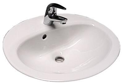 lavabo et vasque gustavberg vb vasque volta plus dimensions 60 x 48 cm couleur blanc darty. Black Bedroom Furniture Sets. Home Design Ideas