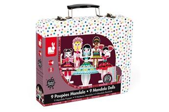 Peinture et dessin JANOD Set de poupées mandalas : Princesses du monde